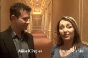Mike Klingler and Lorna Shanks