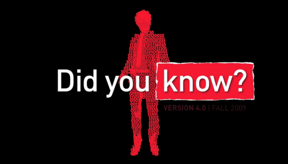 Did You Know 4.0
