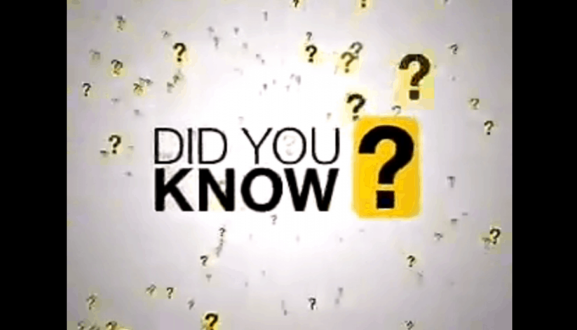 Did You Know? (V3.0)