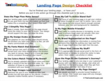 TCC_Landing_Page_Checklist